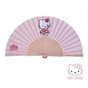 ABANICO VENTOL -HELLO KITTY-