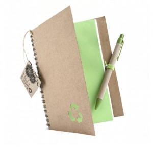 Libreta ecológica con semilla