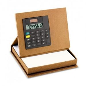 Porta Papeles con Calculadora