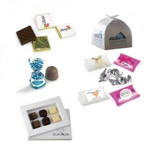 Chocolates, Bombones y Alfajores Publicitarios