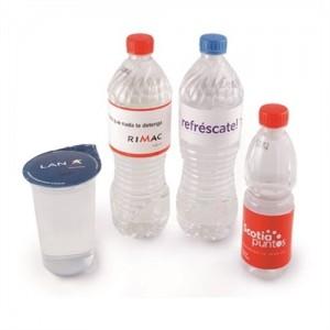 Aguas o Bebidas Publicitarias