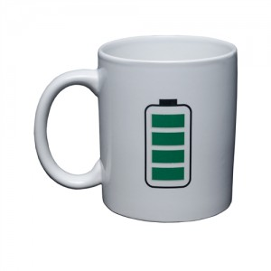 Taza magica battery