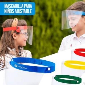 Pantalla facial niños - ajustable