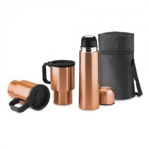 Set Outdoor Termo y Dos Mugs