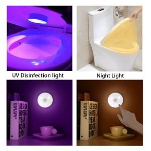 Luz sanitizadora portátil UVC
